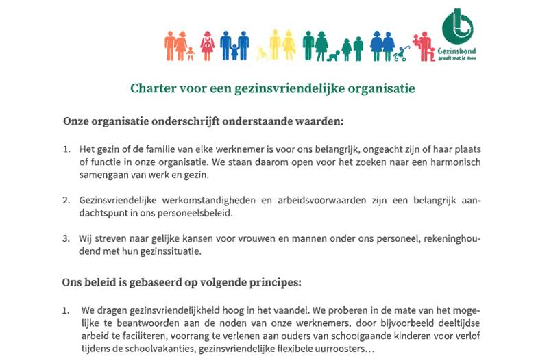 Charter Gezinsbond 2018